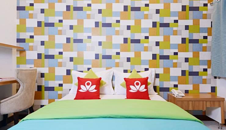 ZenRooms Aria Jipang - Tampak tempat tidur double