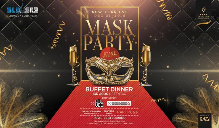 Grand Edge Hotel Semarang - New Year Eve Party
