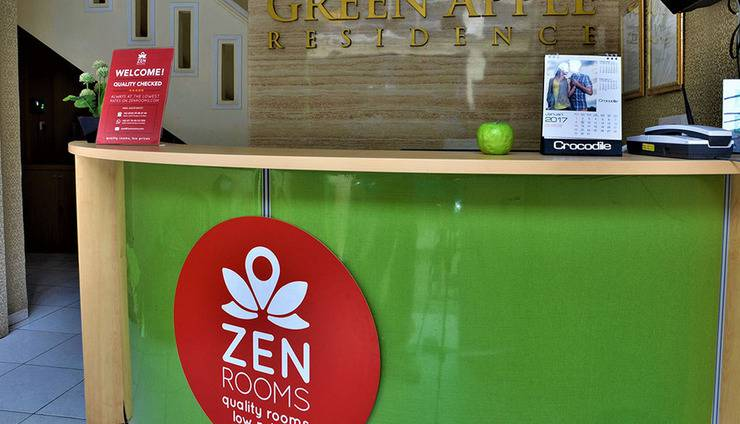 ZEN Rooms Green Apple Tanah Abang - Resepsionis