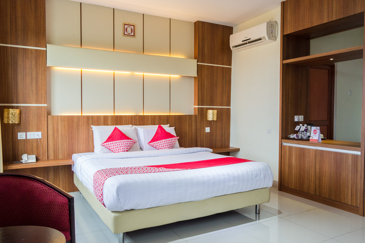 OYO 775 Aviari Hotel Batam - Bedroom