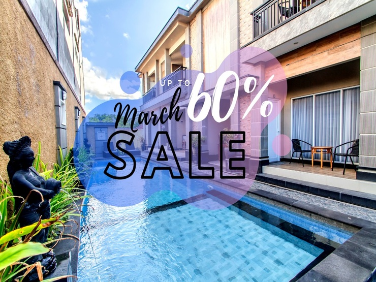 Balisee Apartment Jimbaran Bali - outdoor pool