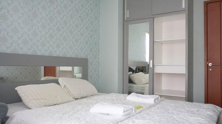 Green Lake View Just Sleep & Cozy Tangerang Selatan - Bedroom