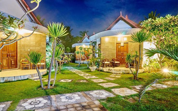 Scooby Doo Beach Bungalow Bali - exterior
