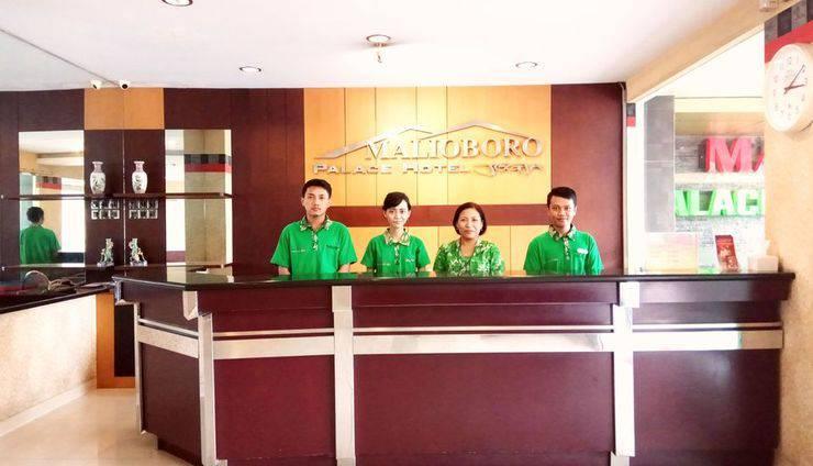 Malioboro Palace Yogyakarta - Resepsionis