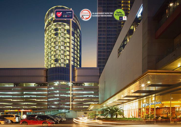 Hotel Ciputra World Surabaya managed by Swiss-Belhotel Int'l Surabaya - CHSE & SBI Vaccination Label