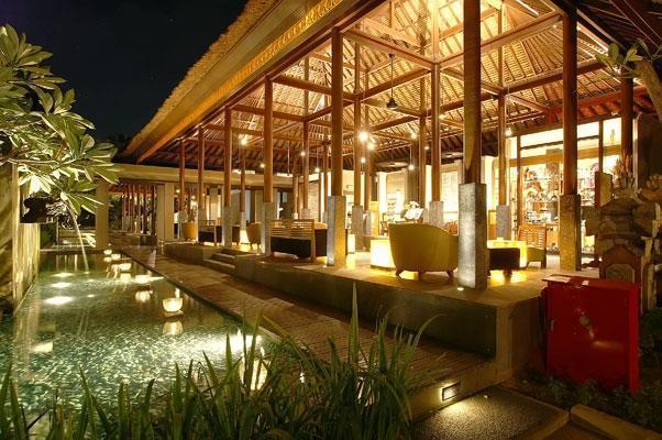 Legian Beach Hotel Bali - Lounge Lobi