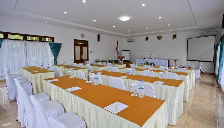 Puri Saron Senggigi Beach Resort Lombok - ruangan meeting