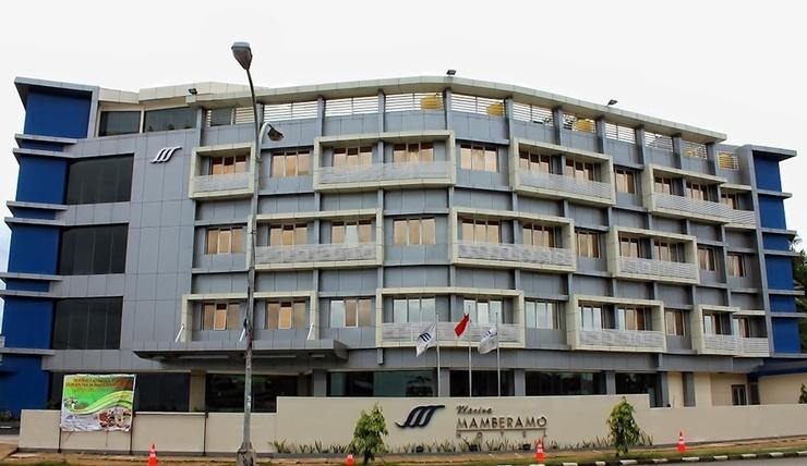 Marina Mamberamo Hotel Sorong - Facade