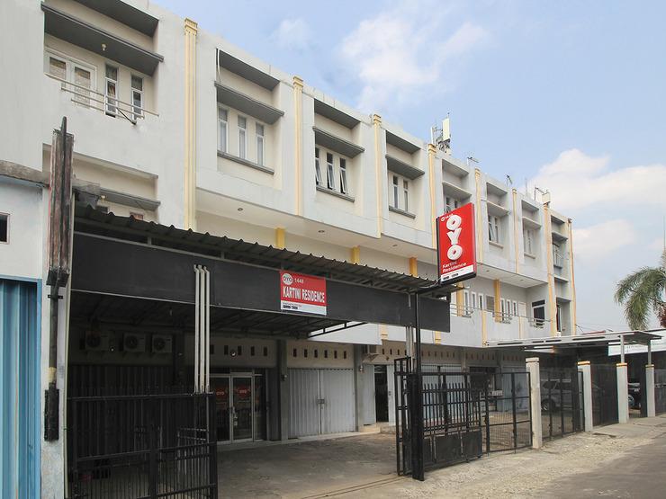 OYO 1448 Kartini Residence Bandar Lampung - Facade