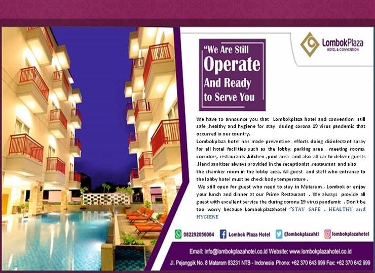 Lombok Plaza Hotel & Convention Cakranegara - Rev