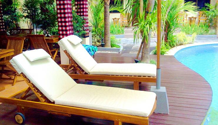 Manggar Indonesia Hotel Bali - Long Chair