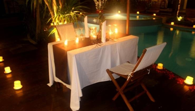 Manggar Indonesia Hotel Bali - Candle Light Dinner
