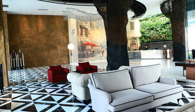 Luminor Hotel Pecenongan Jakarta - lobby