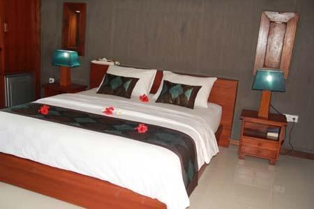 Good Heart Resort Lombok - Tempat tidur King