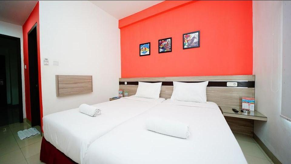 Amaia Hotel Lombok - Kamar Twin Superior Regular Plan