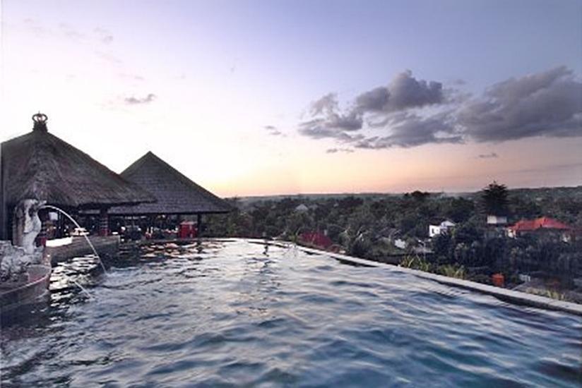 Nirmala Hotel Bali - Top Swimming pool