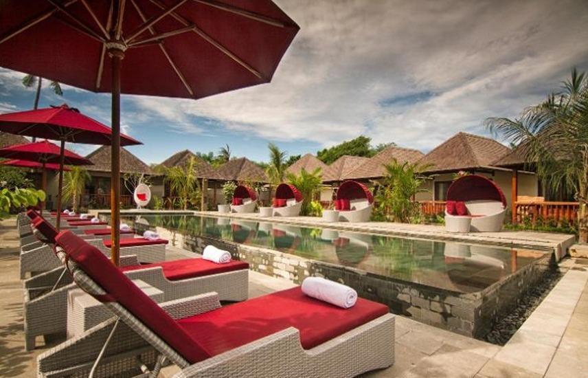Samata Village, Gili Air Lombok - Kolam Renang