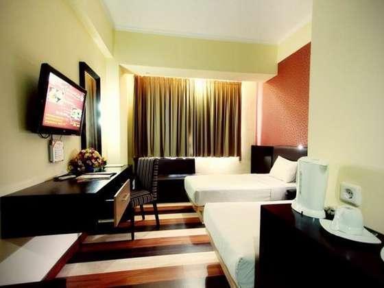 Hotel Pandanaran Semarang - Grand Deluxe Twin Coklat