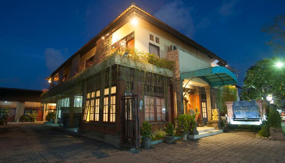 Hotel Catur Adi Putra Bali - Bagian Depan Hotel