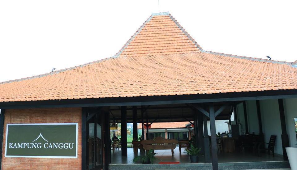 Kampung Canggu Bali - bangunan