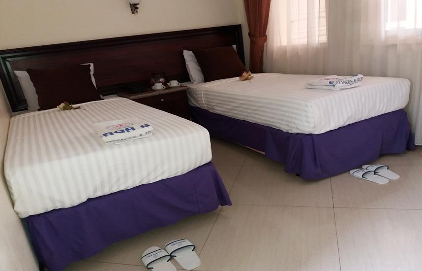 Hotel Delaga Biru Cipanas - Kamar tamu