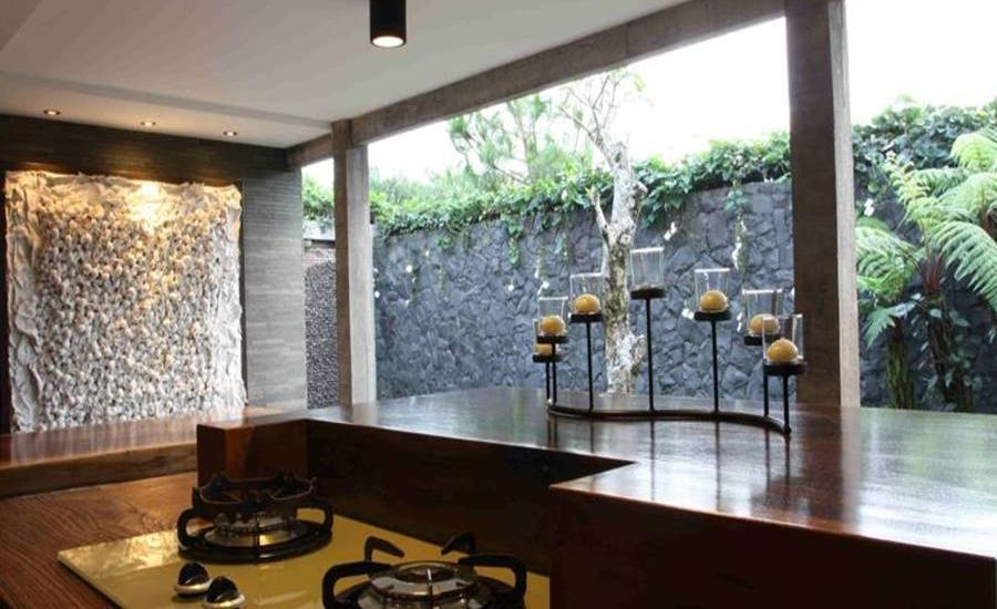 Modern Rustic & Unique Omega Villa Bandung - Interior