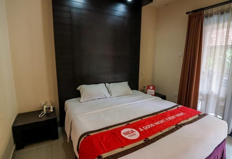 NIDA Rooms Puri Gerenceng 1 Legian - Double Room Single Occupancy Special Promo