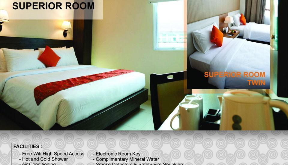 Winstar Hotel Pekanbaru - Superior Room Only Shocktober