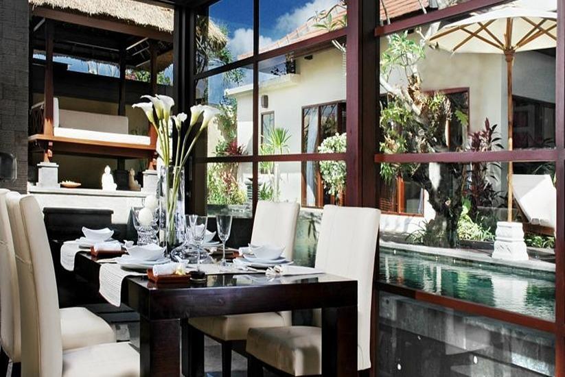 Bugan Villas Bali - Ruang makan