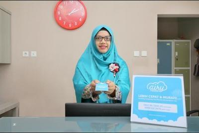 Airy Syariah Medan Sunggal Sei Kapuas 6 - Receptionist