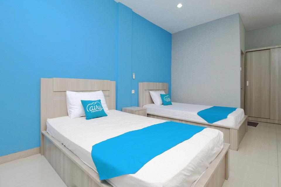 Airy Syariah Medan Sunggal Sei Kapuas 6 - Deluxe Large Twin Room Only Special Promo Jan 28