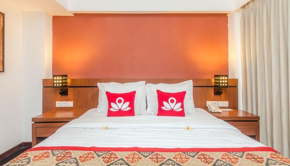 ZenRooms Seminyak Pangkung Sari - Tempat Tidur Double