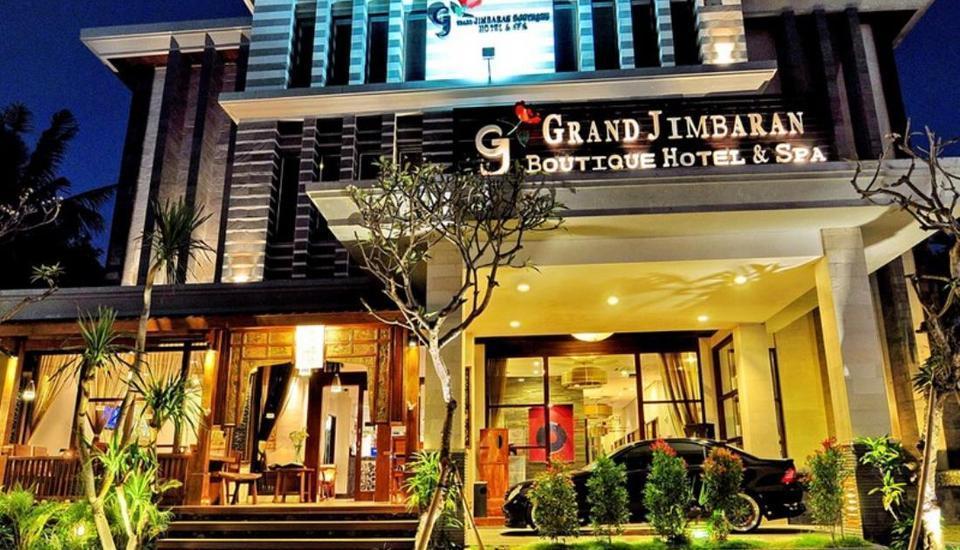 Grand Jimbaran Boutique Hotel & Spa Bali - Tampilan Luar Hotel