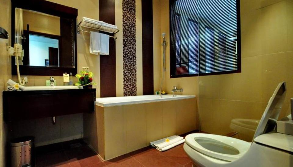 Grand Jimbaran Boutique Hotel & Spa Bali - Kamar mandi