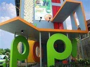 POP Hotel Cengkareng - Tampak Luar