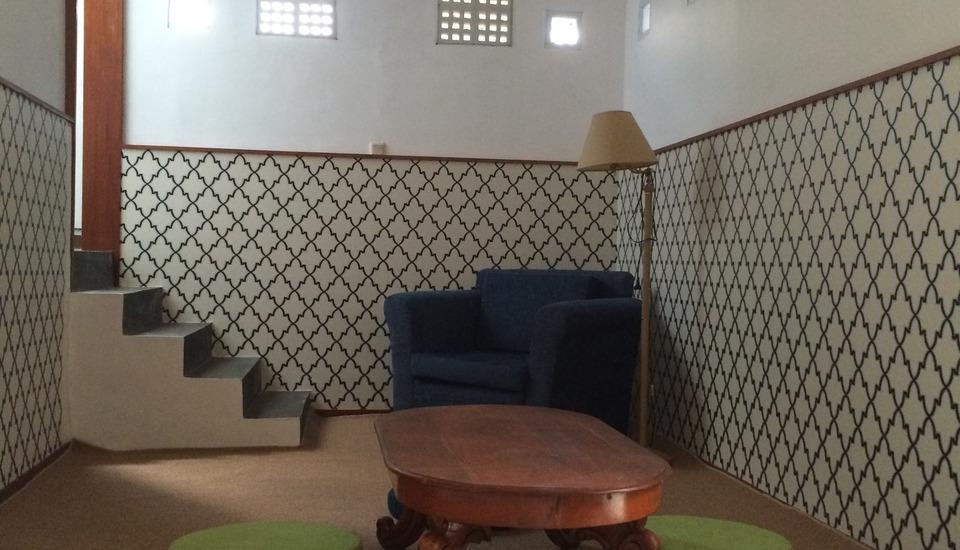 Villa Damos Bandung - Ruang tamu villa 2 kamar
