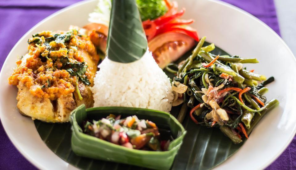 Bali Palms Resort Bali - makanan Indonesia
