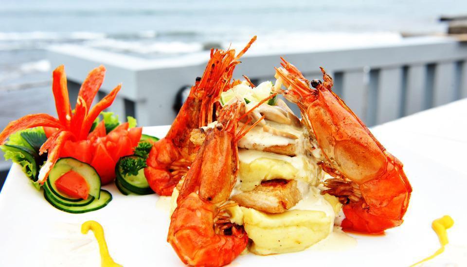 Bali Palms Resort Bali - makanan style eropah