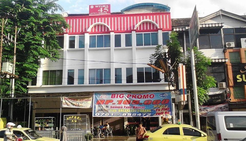 Sabrina 45 Hotel Pekanbaru - Tampilan Luar Hotel