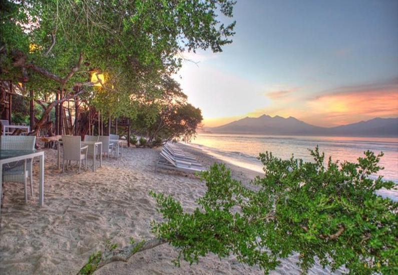The Trawangan Resort Lombok - Pemandangan