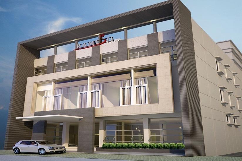 Ramedo Hotel Makassar - Tampilan Luar Hotel