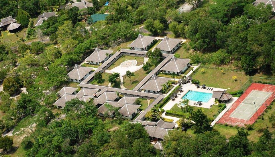 Rungan Sari Resort Palangkaraya - Tampilan Atas