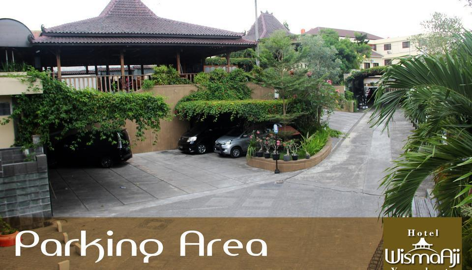 Wisma Aji Yogyakarta - Area Parkir