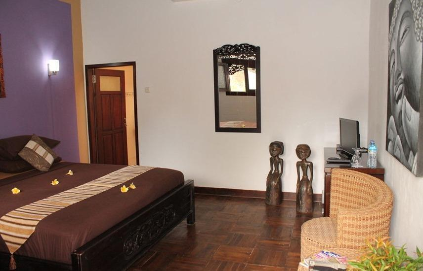 Gili Bagaz Cottages Lombok - Kamar tamu
