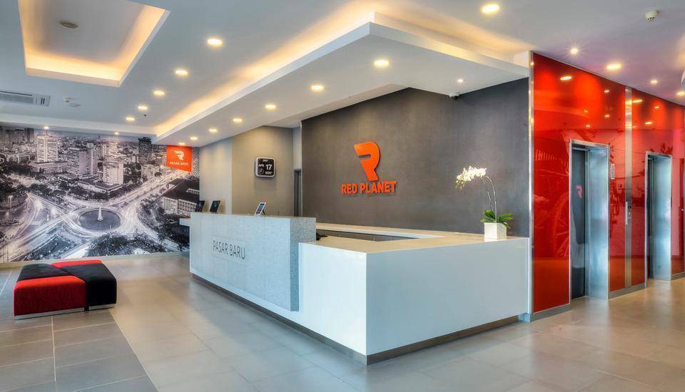 Red Planet Pasar Baru Jakarta - Lobby