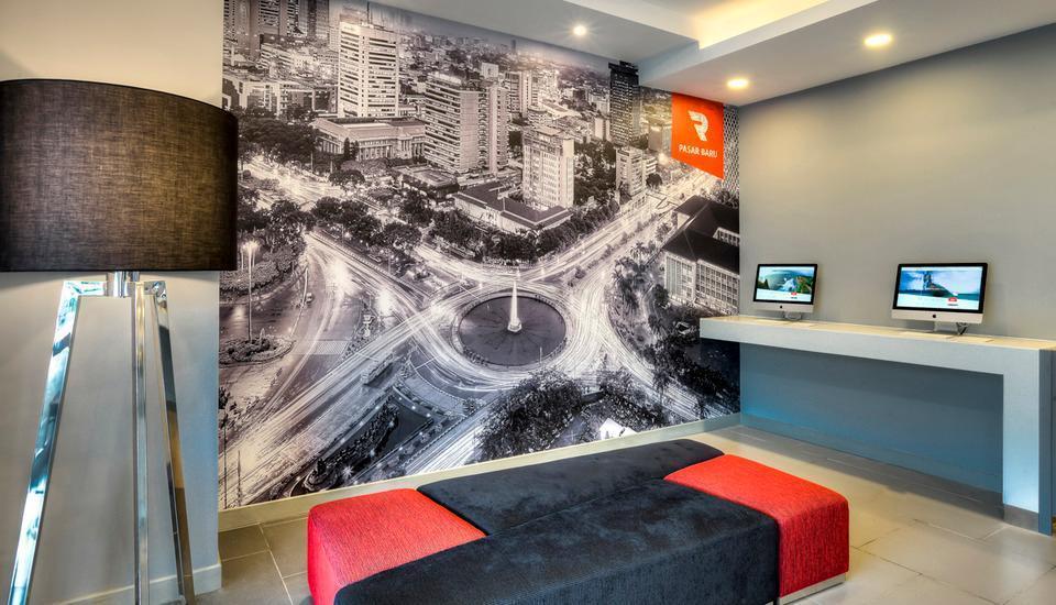 Red Planet Pasar Baru Jakarta - Hotel Facility