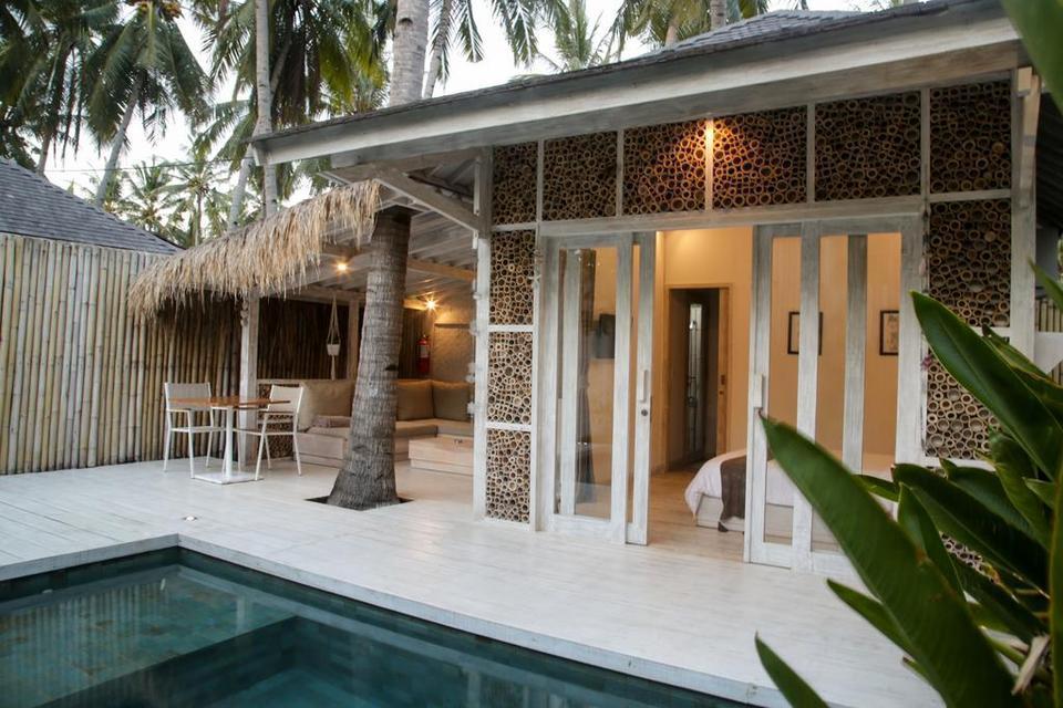 Villas Edenia Lombok - villa 1 kamar dengan kolam renang pribadi untuk hunian 3 orang