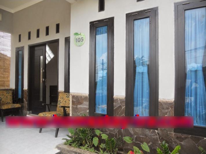 Ceria Homestay Malang - Tampak Depan