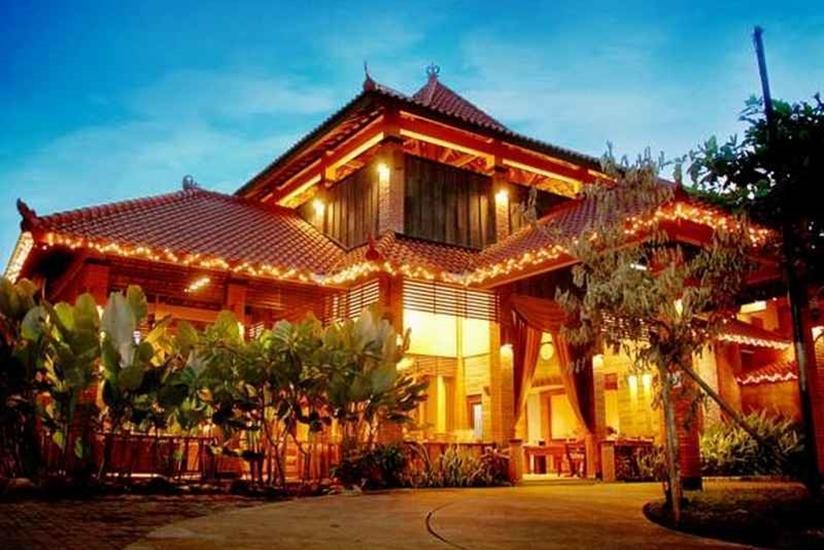 Nyiur Resort Hotel Pangandaran - Tampilan Luar Hotel