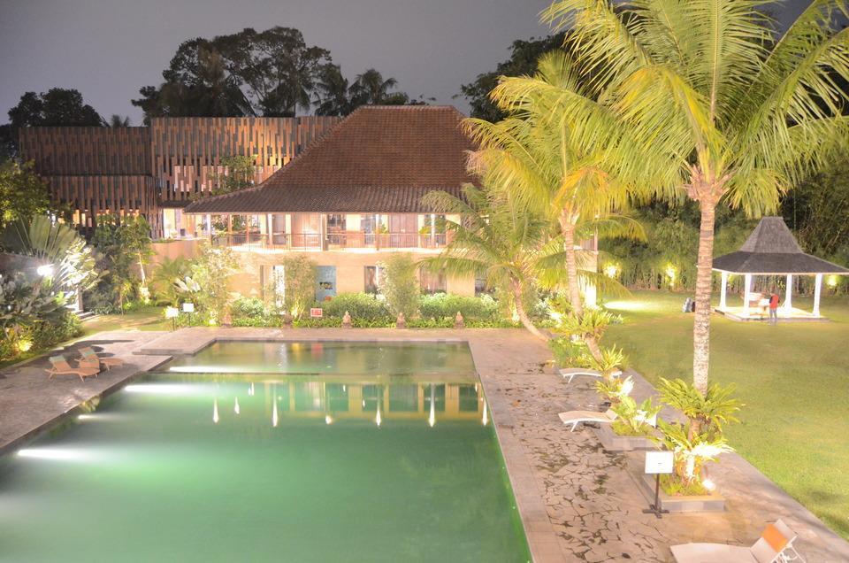 Amanuba Hotel & Resort Rancamaya Bogor - View from Poolbar